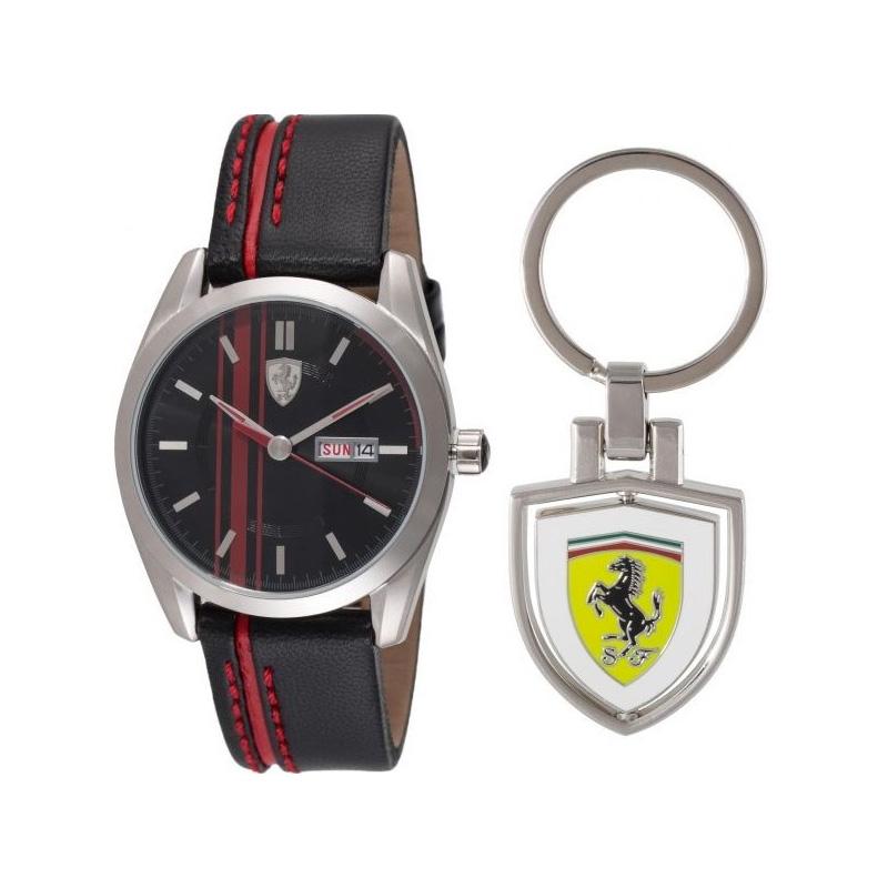 Orologio uomo Scuderia Ferrari 870005  Portachiavi Uomo SS