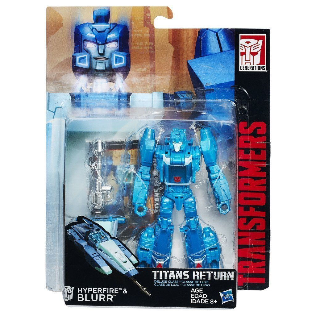 Transformers Generation Deluxe Titans Return