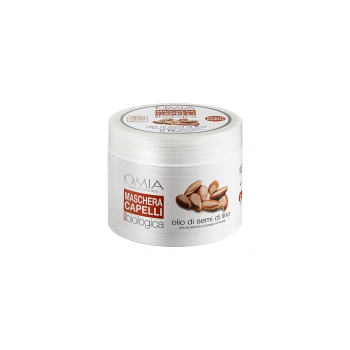 Omia  Maschera capelli olio di semi di lino 250 ml