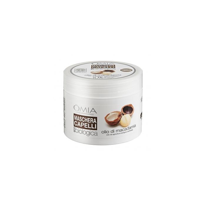 Omia  Maschera capelli olio di macadamia 250 ml
