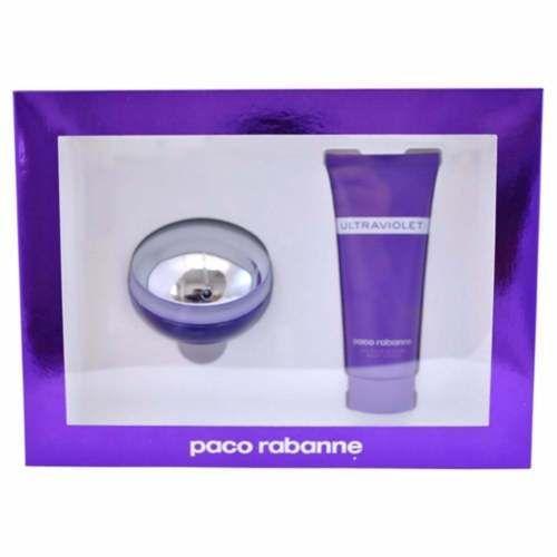 Paco Rabanne Ultraviolet Confezione Regalo 80ml EDP  100ml Lozione Corpo