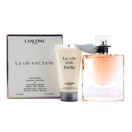 Lancome La Vie Est Belle LEau de Parfum Confezione Regalo 50ml EDP Spray  50ml Lozione Corpo