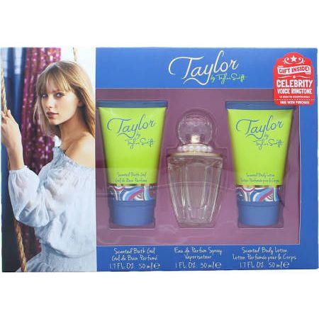 Taylor Swift Taylor Confezione Regalo 30ml EDP  50ml Gel Doccia  50ml Lozione per il Corpo  Suoneria Gratuita