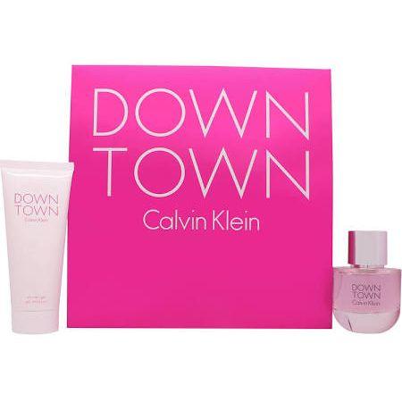 Calvin Klein Downtown Confezione Regalo 50ml EDP  100ml Gel Doccia