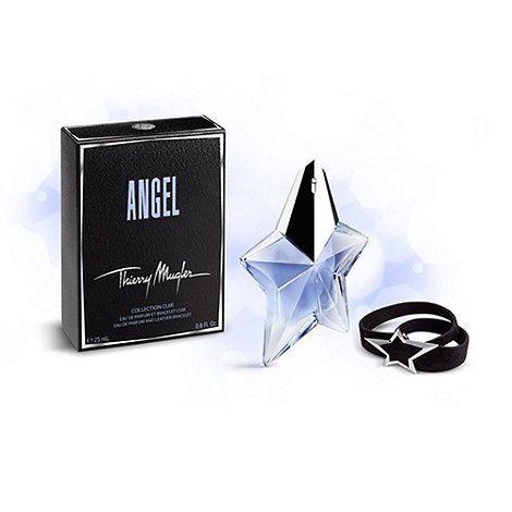 Thierry Mugler Angel Confezione Regalo 50ml EDP Ricaricabile  Braccialetto in Pelle