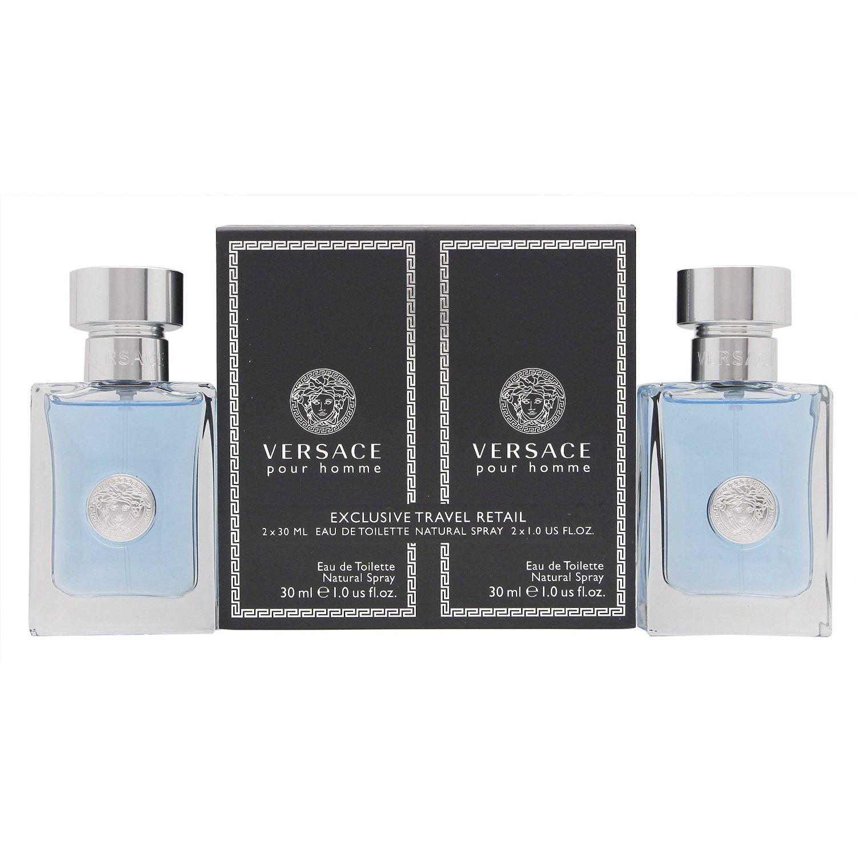 Versace pour Homme Confezione Regalo 2 x 30ml EDT Spray