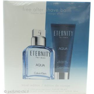 Calvin Klein Eternity Aqua Confezione Regalo 30ml EDP  100ml Lozione Corpo  15ml EDP