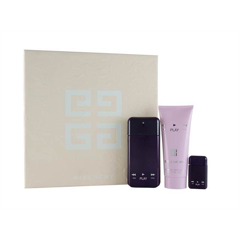 Givenchy Play For Her Intense Confezione Regalo 50ml EDP  5ml EDP  100ml Lozione per il Corpo