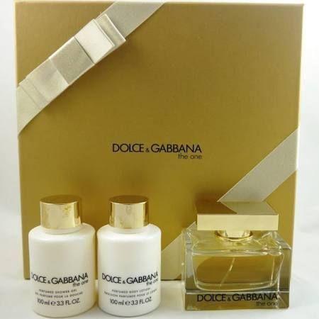 Dolce  Gabbana The One Confezione Regalo 75ml EDP  100ml Lozione Corpo  100ml Gel Doccia