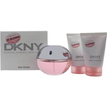 DKNY Be Delicious Fresh Blossom Confezione Regalo 50ml EDP  100ml Lozione Corpo