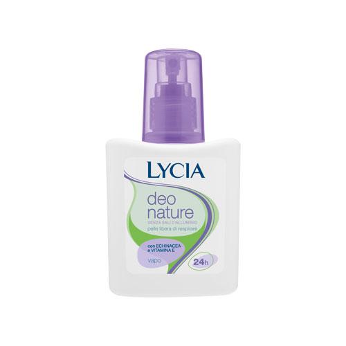 Lycia deodorante deo nature senza sali di alluminio spray 75 ml