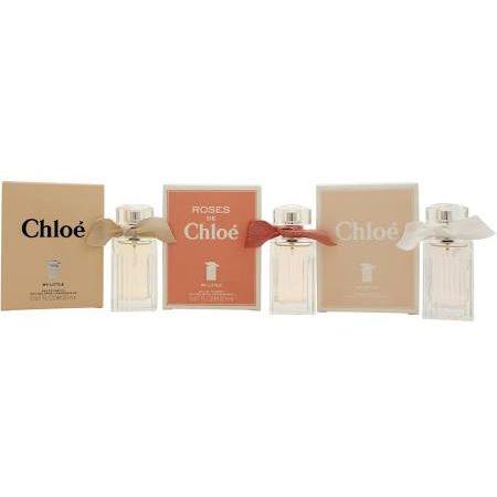 Chloe My Little Chloes Trio Fragrance Confezione Regalo 20ml Chloe My Little Eau de Parfum  20ml Chloe My Little Eau de Toilette  20ml Roses de Chloe My Little Eau de Toilette