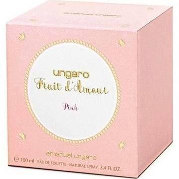 Emanuel Ungaro Fruit dAmour Pink Eau de Toilette 100ml Spray