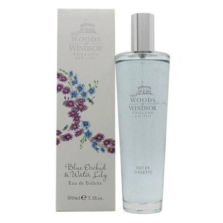 Woods of Windsor Blue Orchid  Water Lily Eau de Toilette 100ml Spray