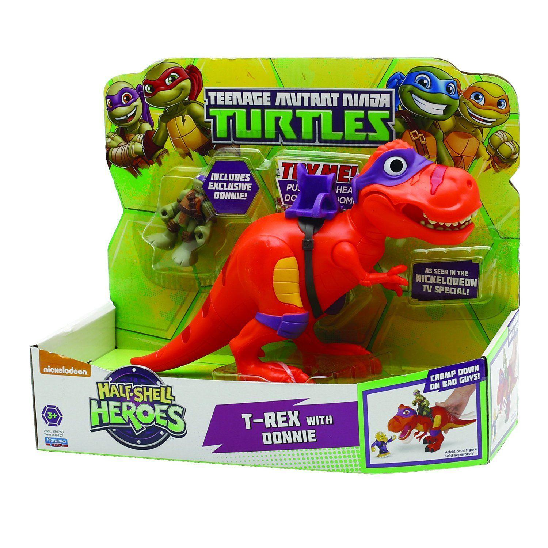TMNT Hsh TRex con Donatello