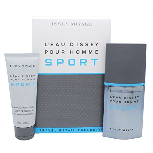 Issey Miyake LEau dIssey Pour Homme Sport Confezione Regalo 50ml EDT  75ml All Over Shampoo