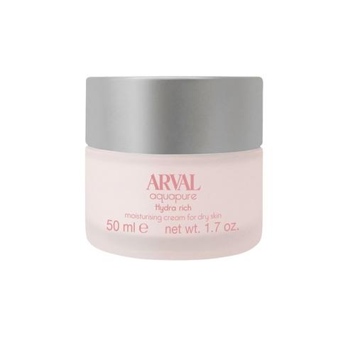 Arval Aquapure hydra rich crema idratante per pelli secche 50 ml