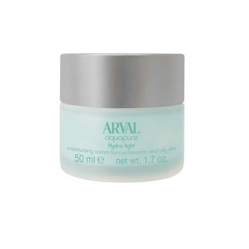 Arval Aquapure hydra light crema idratante per pelli miste e grasse 50 ml