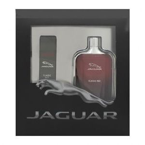 Jaguar Classic Red Confezione Regalo 100ml EDT  15ml EDT Spray da Viaggio