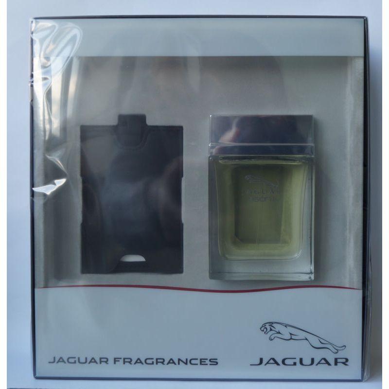 Jaguar Vision II Confezione Regalo 100ml EDT Spray  Tag per Bagaglio