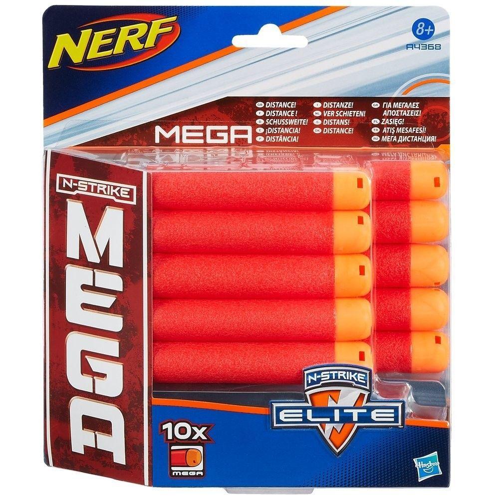 Nerf Mega Ricarica 10 Dardi