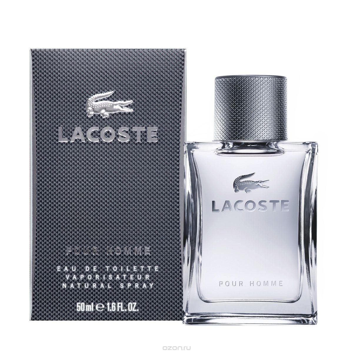 Lacoste Pour Homme Eau de Toilette 50 ml Spray