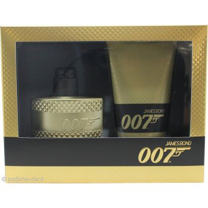 James Bond 007 Gold Confezione Regalo 50ml EDT  150 ml Gel Doccia