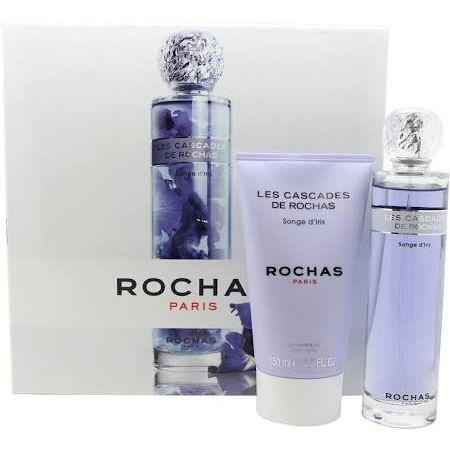 Rochas Les Cascades De Rochas Songe dIris Confezione Regalo 100ml EDT  150ml Lozione Corpo