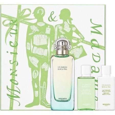 Hermes Un Jardin Sur Le Nil Confezione Regalo 100ml EDT  40ml Lozione Corpo  40ml Gel Doccia