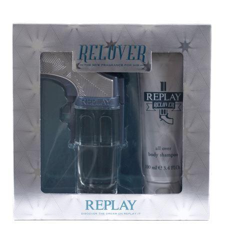 Replay Relover Confezione Regalo 50ml EDT  100ml Doccia Shampoo