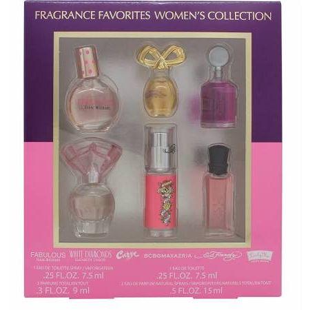 Miniature Set Fragrance Favourites Womens Collection Confezione Regalo  6 Pezzi