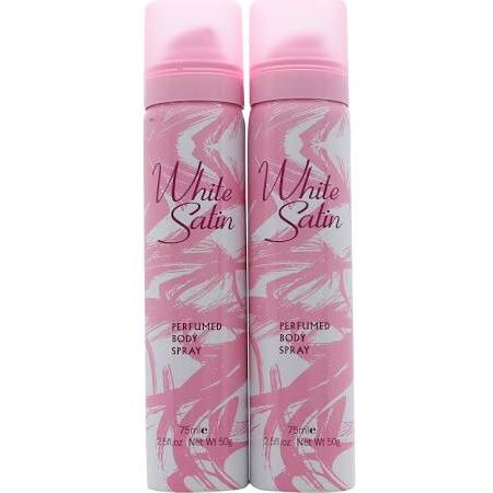 Taylor of London White Satin Body Spray 2 x 75ml