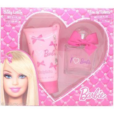 Barbie Barbie Confezione Regalo 75ml EDT  150ml Lozione Corpo  Ciondolo