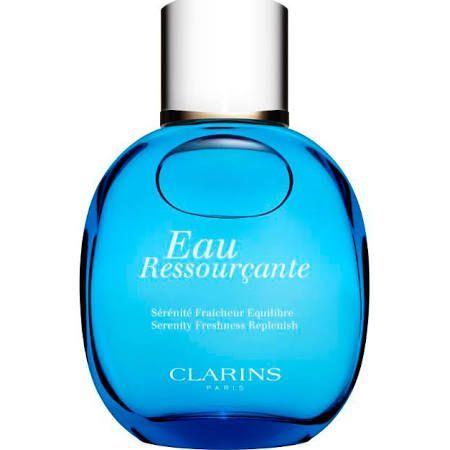 Clarins eau ressourcante acqua di trattamento aromatica per il corpo 100ml