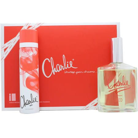 Revlon Charlie Red Eau Fraiche Confezione Regalo 100ml Eau Fraiche Spray  75ml Body Spray