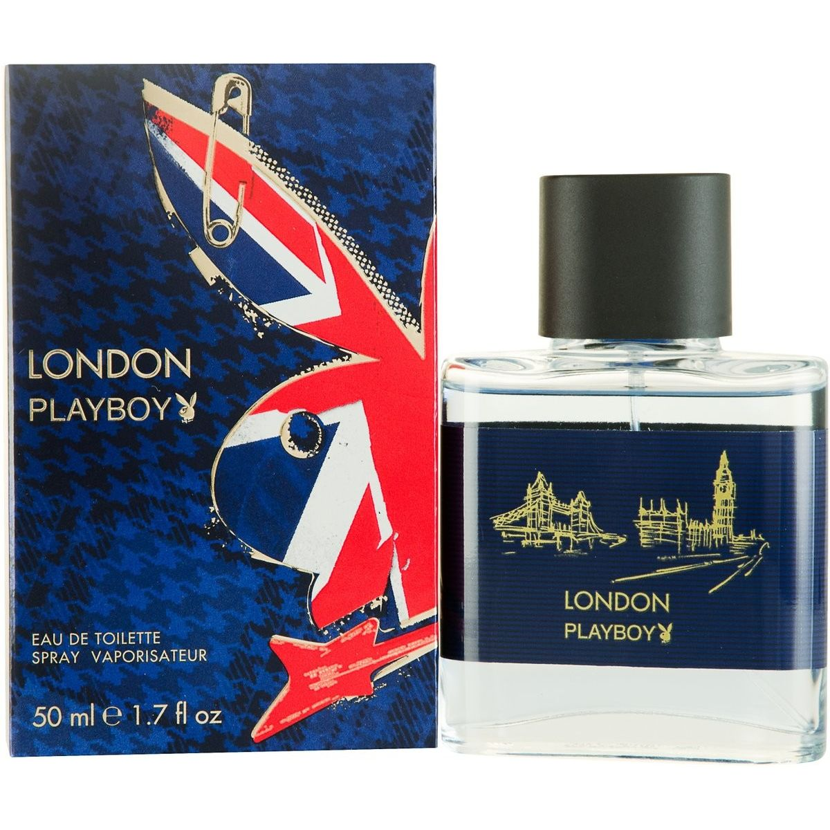 Playboy London Eau de Toilette 50 ml Spray