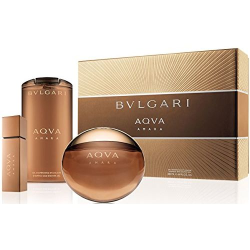 Bvlgari Aqva Amara Confezione Regalo 100ml EDT  200ml Gel Doccia  15ml EDT