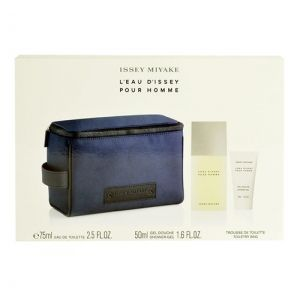 Issey Miyake LEau dIssey Pour Homme Confezione Regalo 75ml EDT  50ml Gel Doccia  Trousse