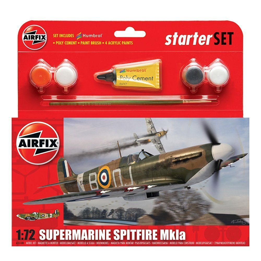 Airfix A55100  Serie Small Gift Set Supermarine Spitfire Mkla
