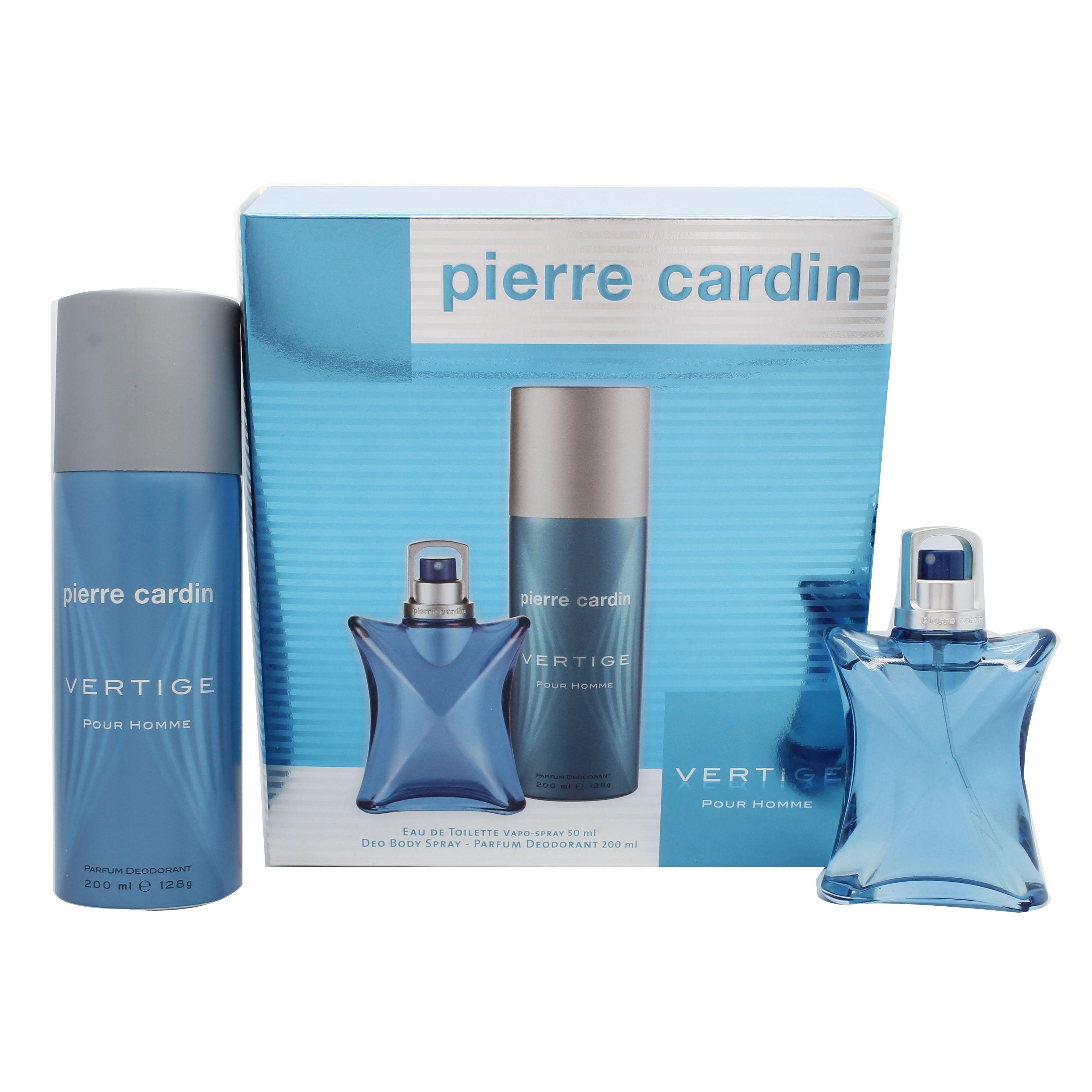 Pierre Cardin Vertige Pour Homme Confezione Reaglo 50ml EDT  200ml Deodorante Body Spray