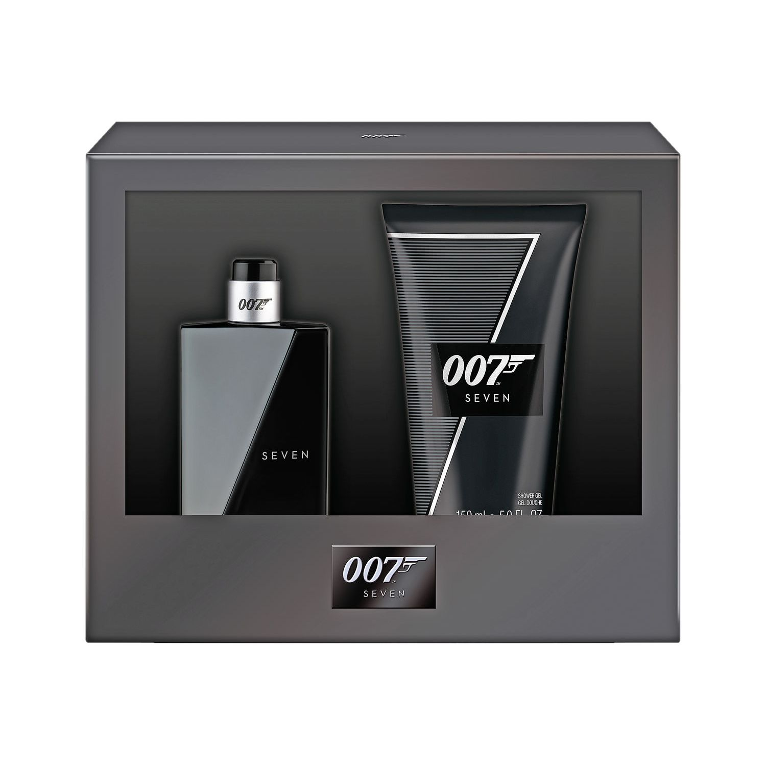 James Bond 007 Seven Confezione Regalo 50ml EDT  150ml Gel Doccia