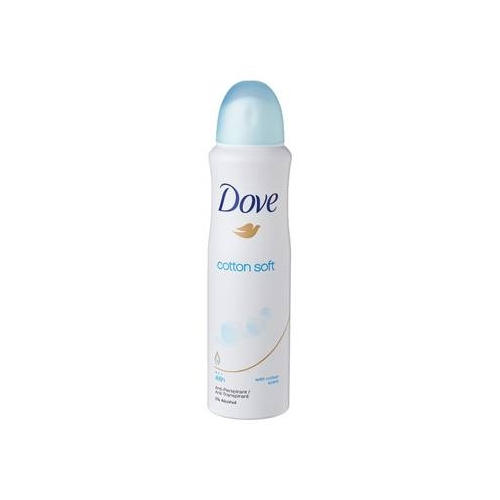 Dove Deodorante Spray Cotton Dry Soft Senza Alcool 150 Ml