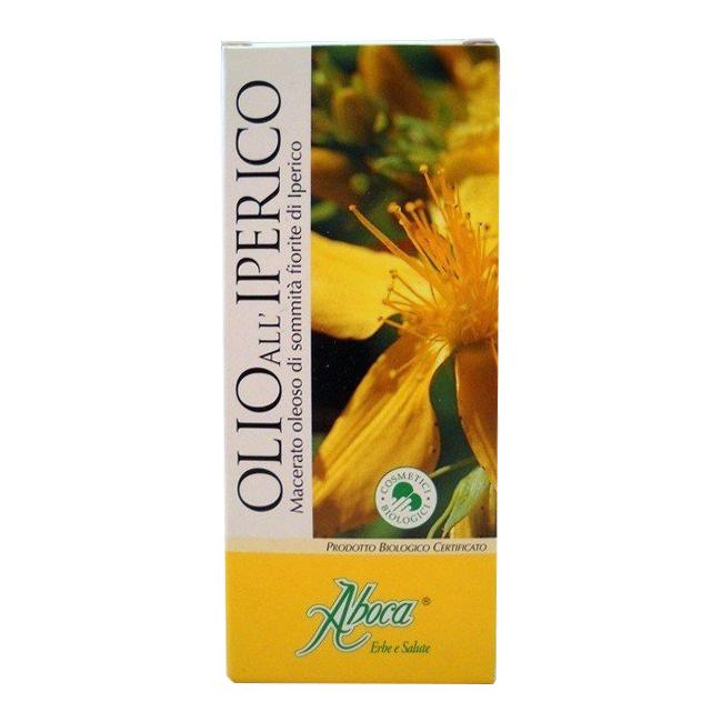 Aboca Olio alliperico cosmetico bio