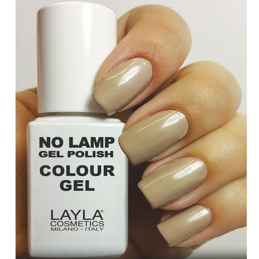 Layla  No lamp gel polish  smalto 5 dirty vanilla