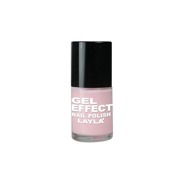 Layla  Gel effect nail polish  smalto 02 pinky doll