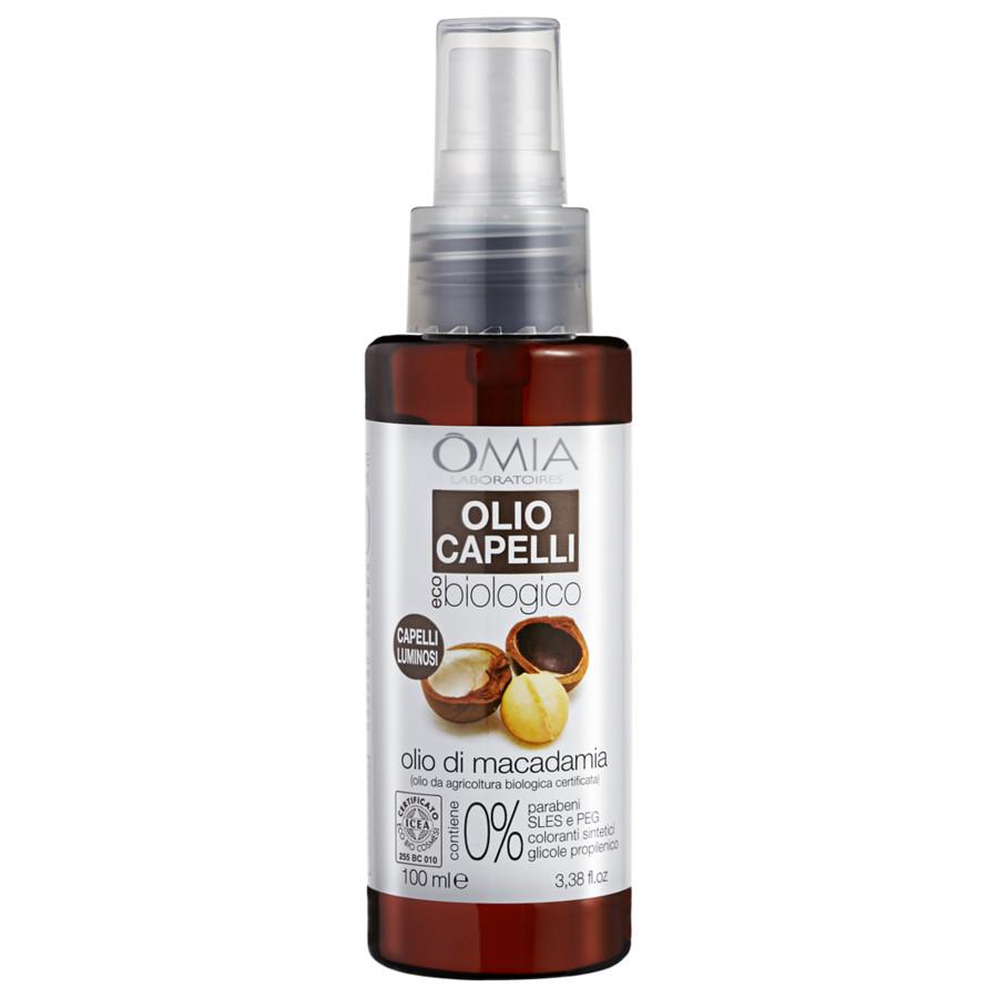 Omia  Olio capelli olio di macadamia 100 ml