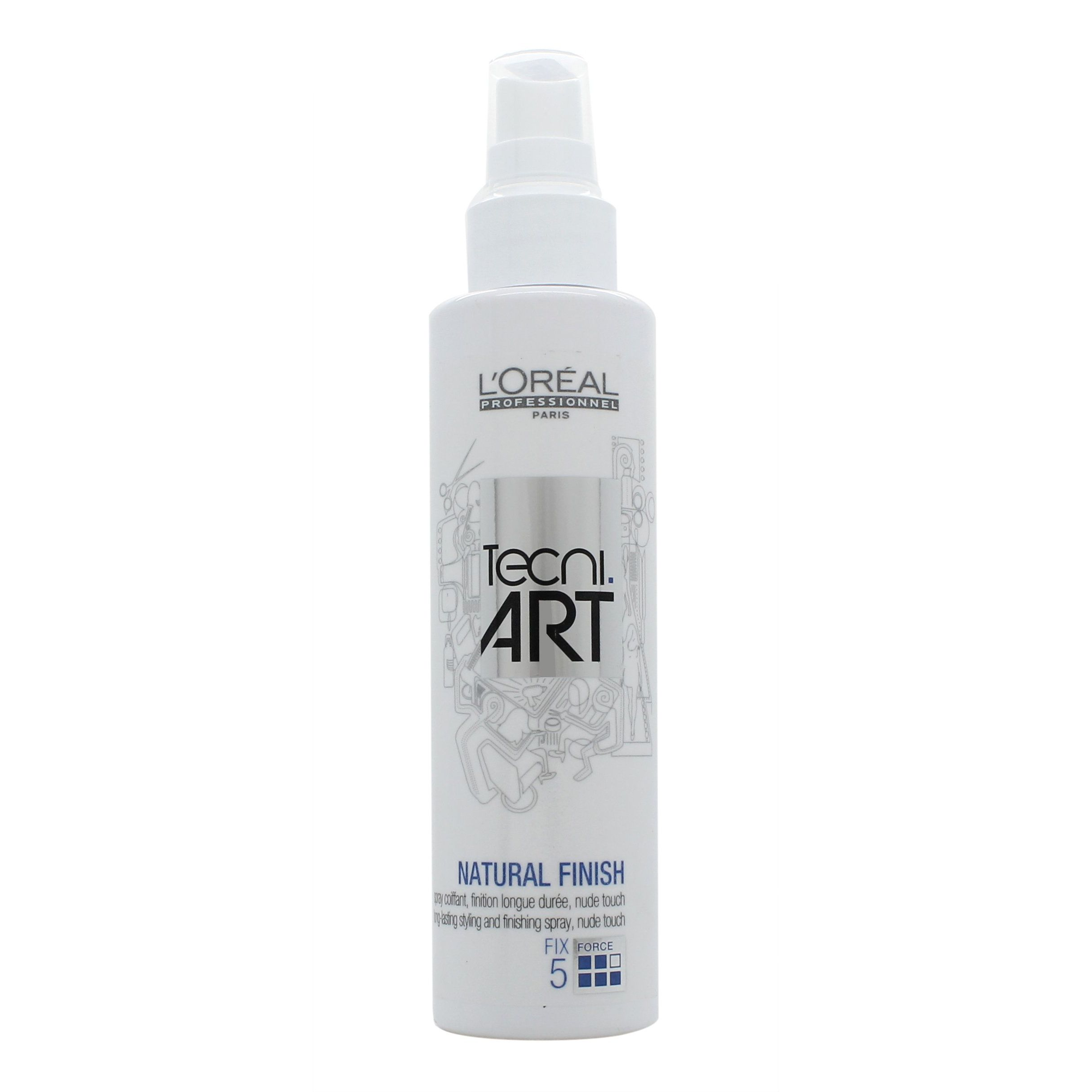 LOreal Tecni Art Natural Finish 150ml Spray per Capelli