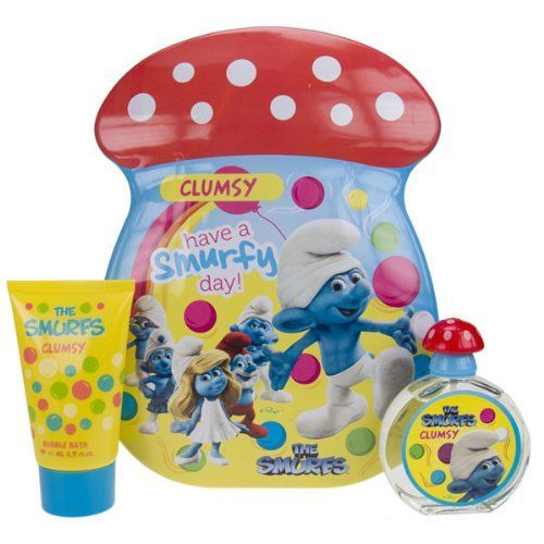 The Smurfs Clumsy Confezione Regalo 50ml EDT  75ml Bagnoschiuma