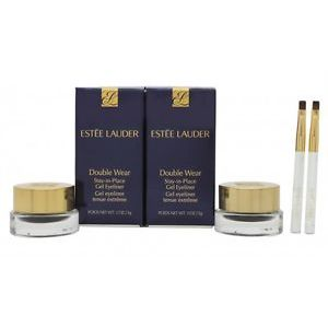 Estee Lauder Double Wear StayinPlace Gel Eyeliner Duo Set 2 x Vasetti Neri