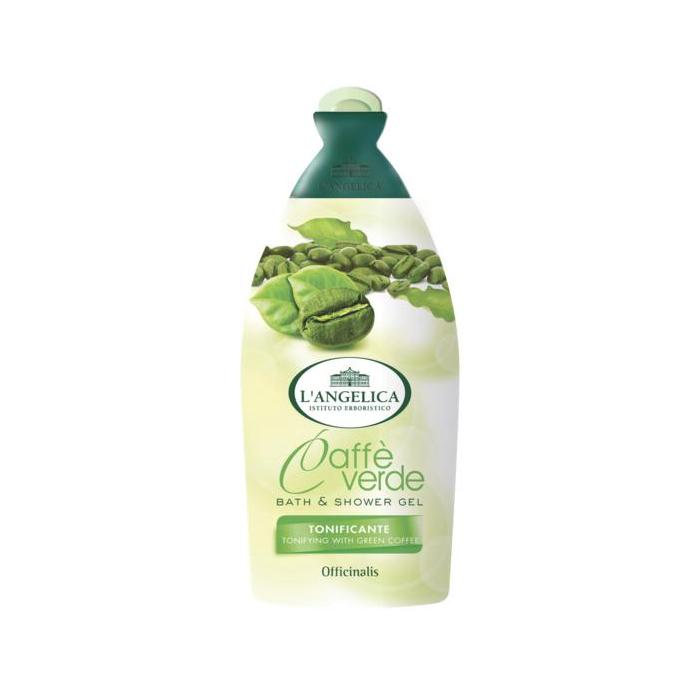 LAngelica  Bagnoschiuma caff verde 500 ml